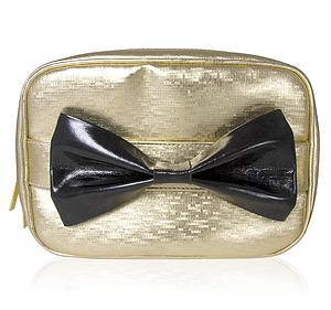 Golden Delight Vanity Case - make-up & wash bags