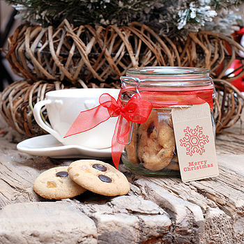 Stem Ginger And Dark Chocolate Biscuit Jar