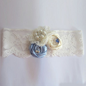 Emily May Lace Bridal Garter - styling your day sale
