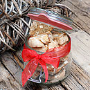 Luxury Nut Biscotti Jar