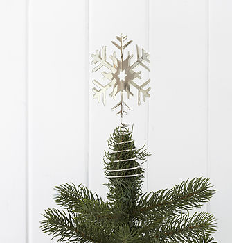 Snowflake Tree Toppers