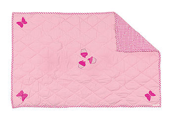 Pink Children's Floor Quilt