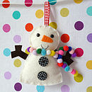 Snowman Decoration Mini Kit