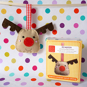 Reindeer Decoration Mini Kit - creative kits & experiences