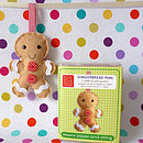 Gingerbread Man Decoration Mini Kit
