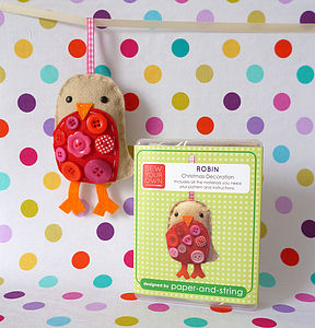 Robin Decoration Mini Kit - sewing & knitting