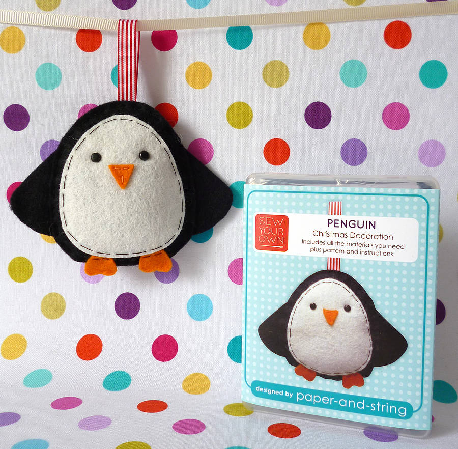 penguin decoration mini kit