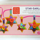 Star Garland Felt Sewing Kit