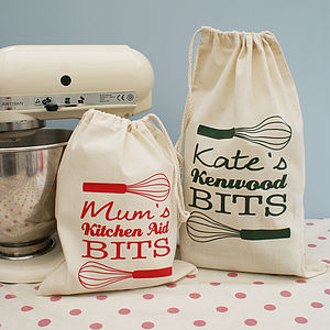 Personalised Kitchen Gadget Bag - storage bags