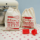 Personalised Kitchen Gadget Bag