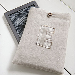 Personalised Embroidered Kindle Case - men's accessories