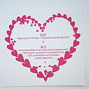 Heart Directions/details card