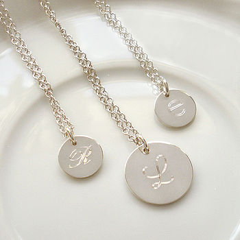 Personalised Initial Necklace