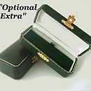 Optional Vintage Style Cufflink Box