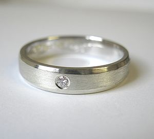Diamond Set Band - rings