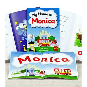 Personalised Name Story Book - toys & games