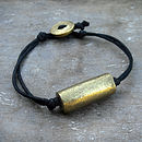 Personalised Recycled Brass Bracelet