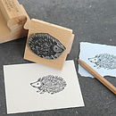 Personalised Image Rubber Stamp