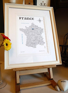 France Word Map