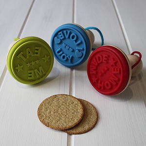 Cookie Stamp - kitchen accessories