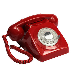 GPO 746 Rotary Dial Telephone - home accessories