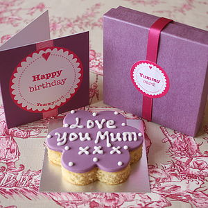 Birthday Cake Card - little extras for her