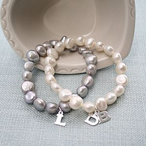 Personalised Pearl Classic Bracelet - for her