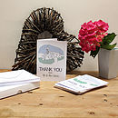 Personalised Wedding 'Thank You' Cards