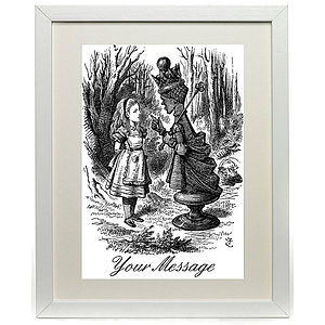 Alice In Wonderland Print - pictures & prints for children