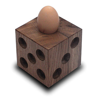 Dice Egg Cup And Holder