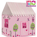 Large Enchanted Garden and Fairy Woodland Playhouse back