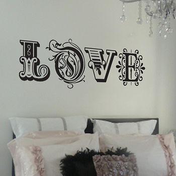 'Love' Wall Sticker