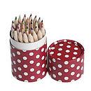 36 Pencils In Retrospot Tube