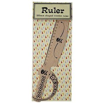 Pirate Cutlass Ruler 'Stocking Filler'