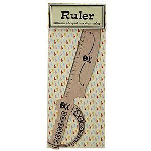 Pirate Cutlass Ruler - rulers, erasers & sharpeners