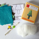 Christmas Tree Decoration Mini Sewing Kit