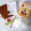 Christmas Pudding Decoration Mini Sewing Kit