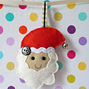Small Handmade Felt Christmas Decoration