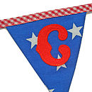 Welcome Bunting 'C' Flag