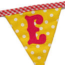 Welcome Bunting 'E' Flag
