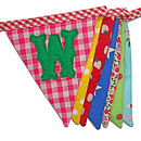 Welcome Bunting Folded