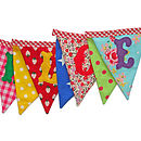 Welcome Bunting Flags