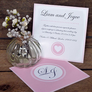 Celia Wedding Invitation