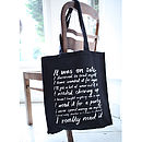'It Was On Sale' Canvas Tote Bag