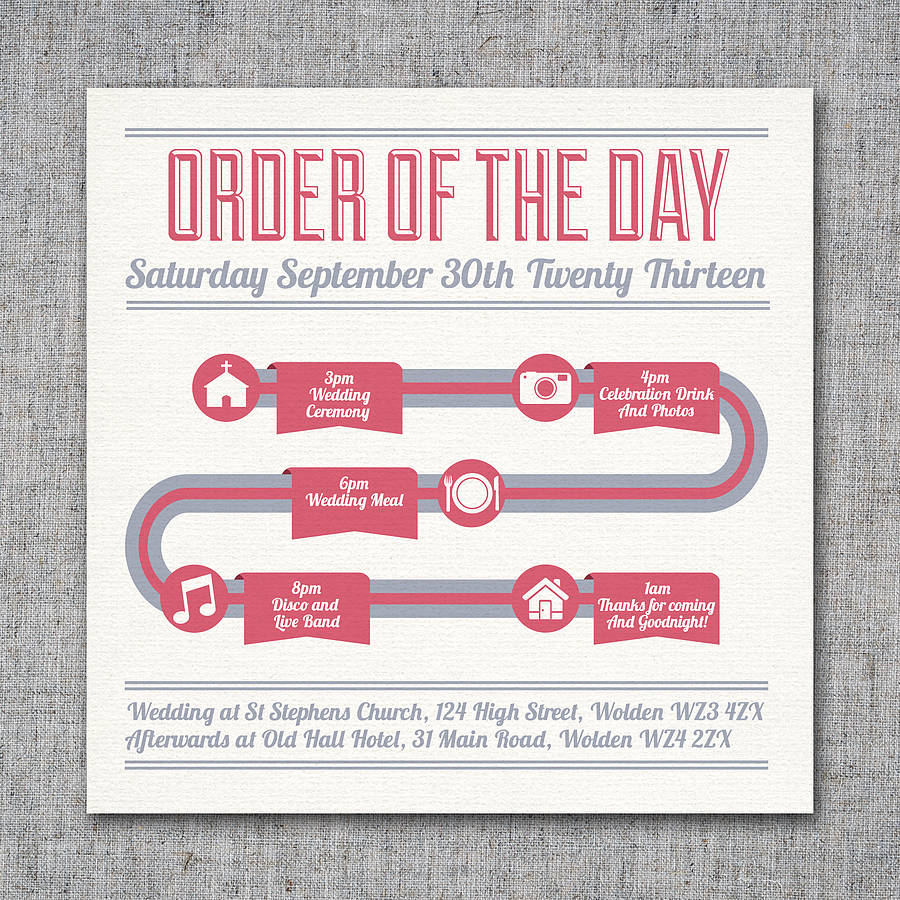 wedding invitations timeline - wedding invitation ideas, Wedding invitations