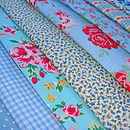 Blue Floral Example Fabrics