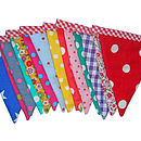 Example of Bright and Funky Style Bunting