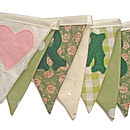 Mr & Mrs Bunting in Sage Greens