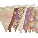 Mr & Mrs Bunting in Vintage Rose