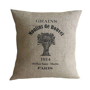 'Moulins the Bouvet' Cushion - bedroom